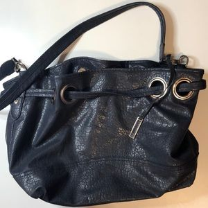 Handbag Dark Blue Mondani New York